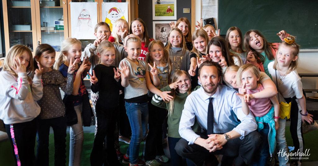 Høyenhall skoles elevkor 2019