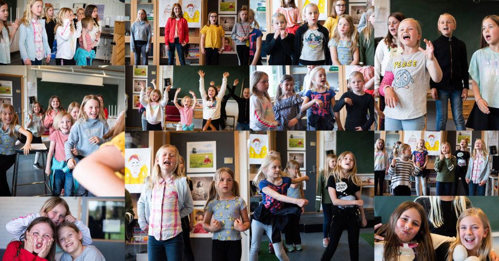 Et sosialt og musikalsk fellesskap for barn ledet av en profesjonell dirigent.